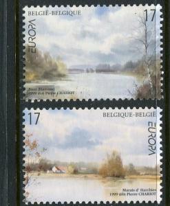Belgium #1734-5 MNH 1999 Europa