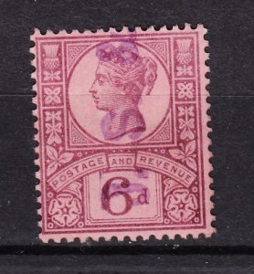 J27533 1887-92 great britain used #119 queen