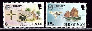 Isle of Man 191-92 MNH 1981 Europa    (ap2998)
