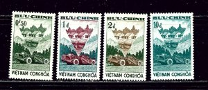 South Vietnam 181-84 MH 1961 Agrarian Reform Program