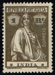 Portuguese India #357 Ceres; Unused (0.35)