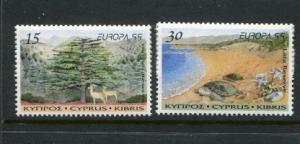 Cyprus #933-4 MNH 1999 Europa