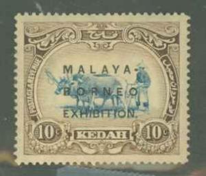 Malaya Kedah 33a Mint VF H