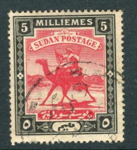 BRITISH E. AFRICA PROTECTORATE; 1902 Camel Rider issue  fine used 5m. value