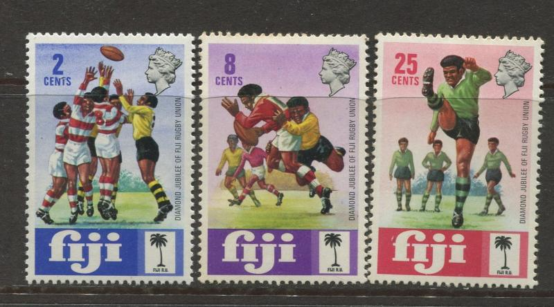 Fiji - Scott 330-332 - General Issue 1973 - MNH - Set of 3 Stamps