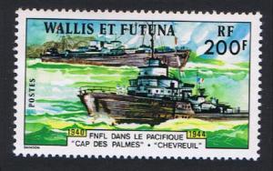 Wallis and Futuna Pacific Naval Force 1v 200f SG#288 SC#208