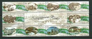 SINGAPORE SG1045a 2000 SINGAPORE RIVER  MNH