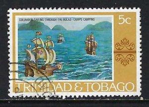 TRINIDAD & TOBAGO 262 VFU COLUMBUS H1246-2