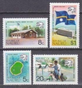 1974 Nauru 111-114 100 years of UPU 6,00 €