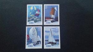 Ireland 2001 Sailing Boats Mint