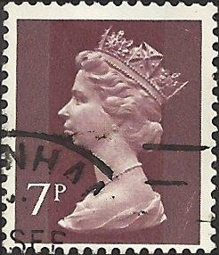 GREAT BRITAIN - MH61 - Used - SCV-0.40