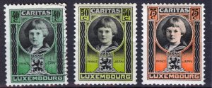 Stamps, 1926, Luxembourg, caritas