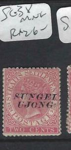 MALAYA SUNGEI UJONG (P0702B)  QV  2C   SG   38   MNG