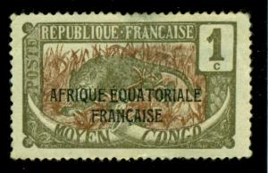 Middle Congo 1924 #23 MH SCV(2018)=$0.35