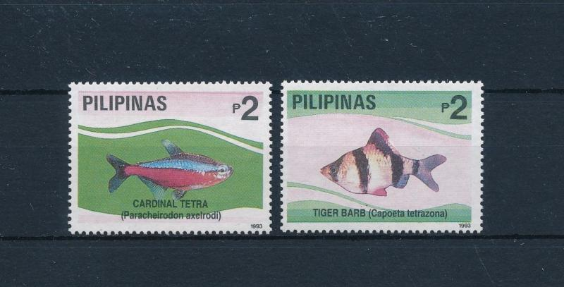 [49094] Philippines 1993 Marine life Fish from set MLH