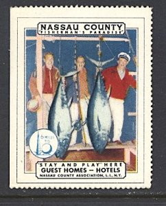 USA New York World's Fair 1939/40 Nassau County Long Island Tourism Fishing