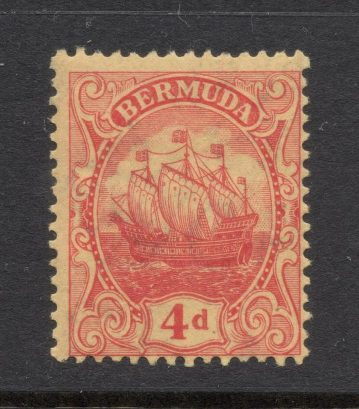 Bermuda #46 Red Yellow - Unused - O.G.