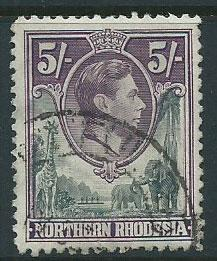 Northern Rhodesia  SG 43  Fine Used