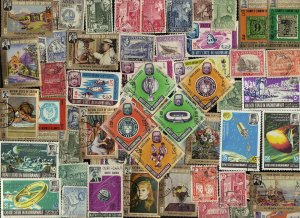 100 ALL DIFFERENT ADEN & STATES & SOUTH ARABIA