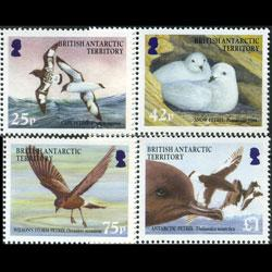 BR.ANTARCTIC TERR. 2005 - Scott# 345-8 Birds Set of 4 NH