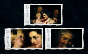 [100052] Grenada 2009 Art Painting Rubens The Holy Family  MNH