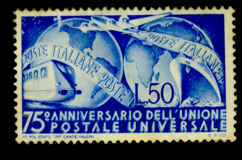 Italy #514 MINT F-VF NO gum Cat$26