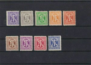 GERMANY , ALLIED MILITARY POST 1945 /46 VALUES  MNH  . REF 484
