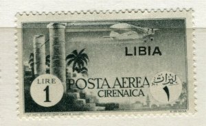 ITALY; LIBYA 1930s pictorial issue AIR mint hinged 1L. value