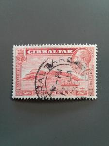 Gibraltar 96a F-VF Used. Scott $8.50