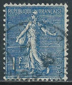 France, Sc #154, 1fr Used