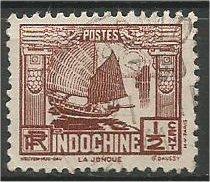 INDO-CHINA, 1931,used 1/2c, Junk Scott 146