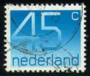 Netherlands #540 Numeral; used (0.25)