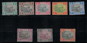 Malaya 1901 18-25 Set LH CV$465.25