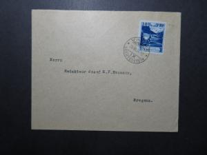 Liechtenstein SC# 99 on 1934 Cover to Bergenz / Single Franking - Z11849