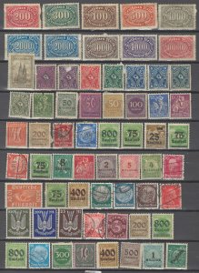 COLLECTION LOT # 41L GERMANY 136 STAMPS CLEARANCE