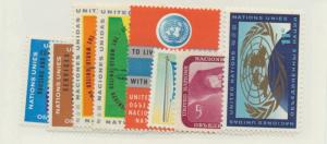 United Nations (New York) Scott #100 To 107 From 1962 - Free U.S. Shipping, F...