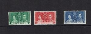 Hong Kong: 1937 King George Vi Coronation, MLH set