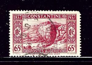 Algeria 113 Used 1937 Constantine in 1937 nibbed corner perf