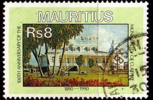 MAURITIUS [1990] MiNr 0709 ( O/used ) Architektur