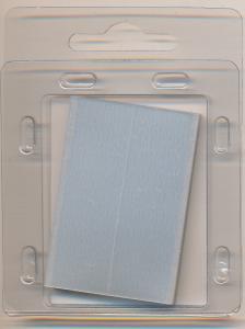 Prinz Scott Stamp Mount Size 50/31mm - CLEAR (Pack of 40) (50x31  50mm)  PRECUT