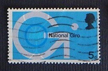 National Giro, Great Britain, 5d (R-485)