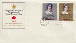 Canada, First Day Cover, Royalty