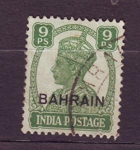 J23612 JLstamps 1942-4 bahrain a hv of set used #40 king