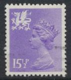 Great Britain Wales  SG W42 SC# WMMH27 Used  see details phosphorised paper