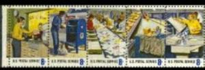 US Stamp #1489-1498 MNH - Postal People 2 Se-Tenant Strips of 5