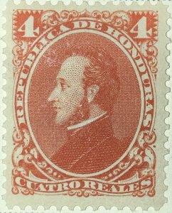 AlexStamps HONDURAS #35 VF Mint