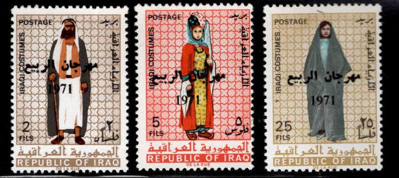 IRAQ Scott 597-599 MNH** Mosul festival set