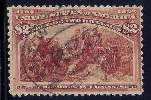 U.S. 242 Used FVF SCV$650.00 (242-9)