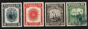 Paraguay 1948 50th Anniversary of the Archbishopric of Asuncion (4/4) USED