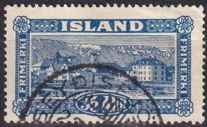 Iceland #147 F-VF Used CV $9.50  (Z8031)